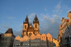 Alter Rathausplatz Stockbilder