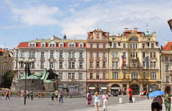 Alter Rathausplatz Lizenzfreie Stockfotografie