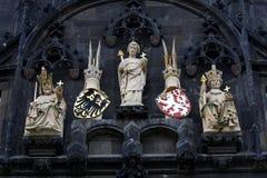 Alter Rathausplatz, Prag Lizenzfreies Stockfoto