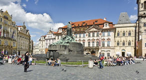 Alter Rathausplatz, Prag Stockfoto