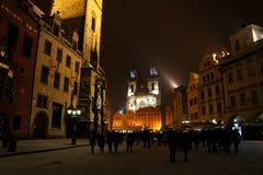 Alter Rathausplatz in Prag, Tschechische Republik stockfoto