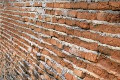 Alter Retro- Block-Backsteinmauerzusammenfassungshintergrund Lizenzfreie Stockfotografie