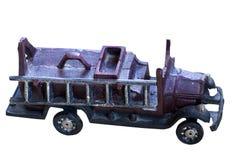 Alter Roheisen Toy Fire-LKW Lizenzfreie Stockbilder