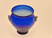 Alter Roman Blue Vase Lizenzfreie Stockbilder