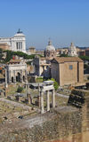 Alter Roman Forum, ROM, Itly 08 Lizenzfreie Stockfotos