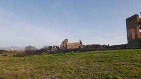 Alter Roman Ruins in Italien stock footage