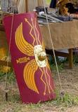 Alter Roman Shield Stockbild