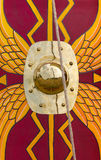 Alter Roman Shield Lizenzfreies Stockfoto