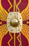 Alter Roman Shield Lizenzfreies Stockfoto