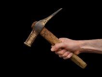 Alter rostiger Hammer Stockbilder