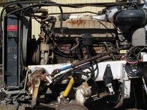 Alter rostiger Lkw-Motor Lizenzfreies Stockfoto