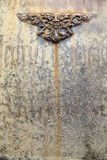 Alter rostiger Metallglockenhintergrund Bangkok Stockbild