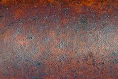 Alter rostiger Metallhintergrund   Lizenzfreie Stockfotos
