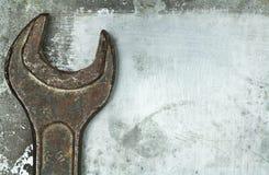 Alter rostiger Schlüssel Lizenzfreies Stockbild
