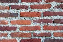 Alter roter Backsteinmauerbeschaffenheitshintergrund Lizenzfreies Stockbild