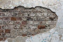 Alter roter Backsteinmauerbeschaffenheitshintergrund stockfotografie