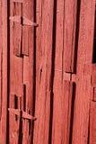 Alter roter Stall Lizenzfreies Stockfoto
