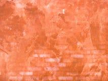 Alter roter Wandhintergrund Stockfoto
