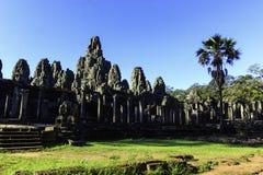 Alter Ruine Bayon-Tempel stockfotografie