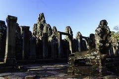 Alter Ruine Bayon-Tempel in Siem Reap stockbilder