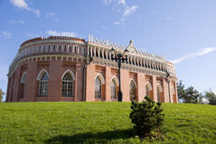 Alter russischer Palast in Tsaritsyno Stockfoto