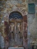 Alter rustikaler Eingang Stockfoto