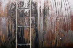 Alter Rusty Tanker Lizenzfreie Stockfotografie