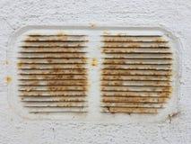 Alter Rusty Ventilation Shaft Stockfotos