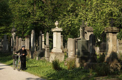 Old South Cemetery - Munich Stock Image