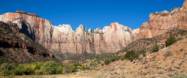 Alter of Sacrifice Peak Zions Royalty Free Stock Photo
