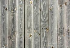 Alter schäbiger Hintergrund des Naturholzgraus Lizenzfreie Stockbilder
