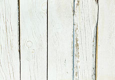 Alter schäbiger Hintergrund von Naturholzweiß Stockfotos