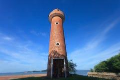 Alter schöner Leuchtturm Stockbild