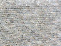 Alter Schiefer-Dach-Hintergrund stockfotografie