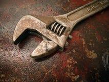 Alter Schlüssel auf dem Kraftstofftank Lizenzfreie Stockfotos