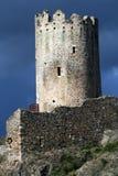 Alter Schlosskontrollturm Lizenzfreies Stockbild