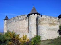 Alter Schlosskontrollturm lizenzfreie stockfotografie