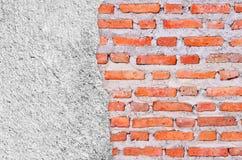 Alter Schmutz-Backsteinmauerhintergrund Stockfotografie