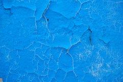 Alter Schmutz malte Wandbeschaffenheitshintergrund mit Kratzern und Sprüngen Lizenzfreie Stockfotografie