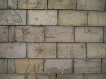 Alter Schmutzbacksteinmauer-Beschaffenheitshintergrund Lizenzfreies Stockfoto