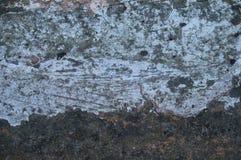Alter Schmutzwand-Beschaffenheitshintergrund mit Kratzern und Sprüngen Stockbilder