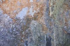 Alter Schmutzwand-Beschaffenheitshintergrund mit Kratzern und Sprüngen Lizenzfreies Stockbild