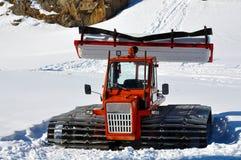 Alter Schneehersteller lizenzfreies stockbild