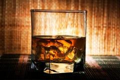 Alter schottischer Whisky Stockbild