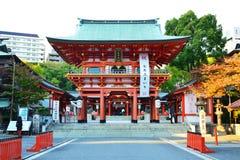 Alter Schrein Japan stockfoto