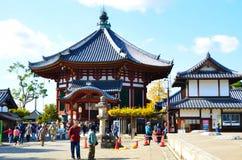 Alter Schrein in Nara lizenzfreie stockbilder