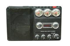 Alter schwarzer Funk stockbilder