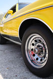 Alter Shelby Mustang Lizenzfreie Stockfotos