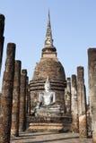Alter Siam Buddha lizenzfreie stockfotografie