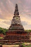 Alter siamesischer Tempel Stockfotografie
